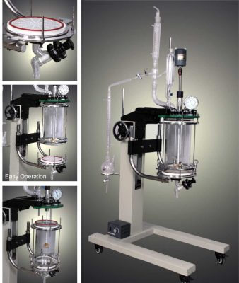 Bench Scale Reaction Units, Bench Scale Reactor Unit with Filter Manufacturers in India (Ankleshwar)