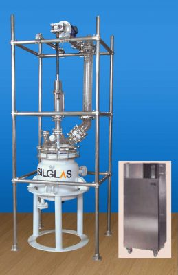 Glass Lined Reactor with Glass Top, Glass Lined Reactor Manufacturers India