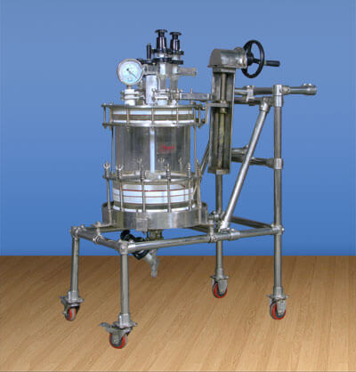 Glass Nutsche Filters, Borosilicate Glass Nutsche Filters Manufacturers India (Ankleshwar)