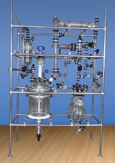 Glass Reactor, Jacketed Glass Reactor Manufacturers in India