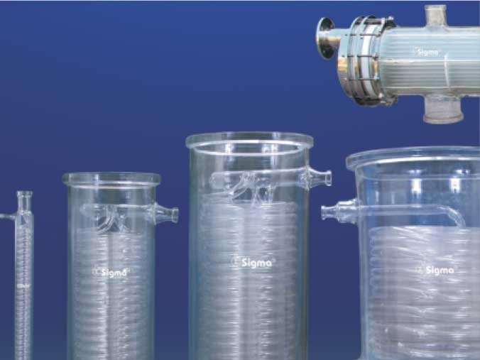 Glass Heat Exchanger, Corrosion Resistant Heat Exchangers Manufacturers and Supplier India
