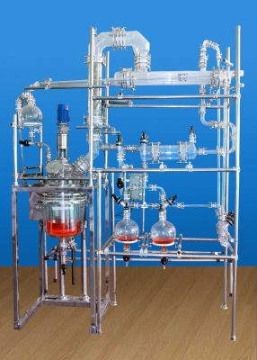 Kilo Lab Reaction And Distillation Unit Hood Application