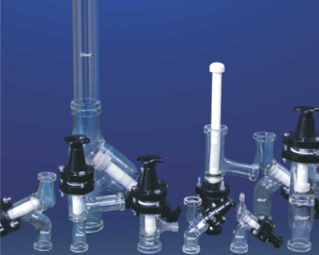 Borosilicate Glass made Glass Valves and Filters Manufacturers and Suppliers, and Exporters in India